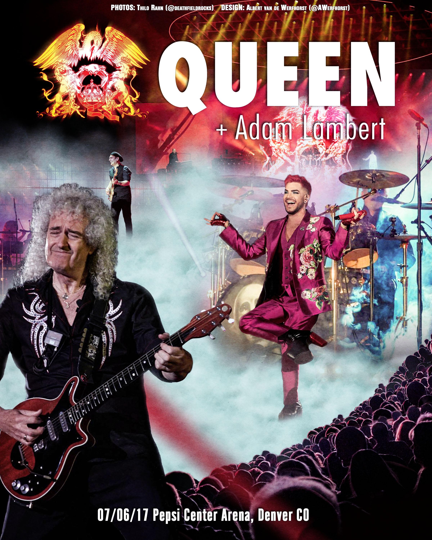 LIVE: Queen + Adam Lambert (Denver, CO) 7/6/17